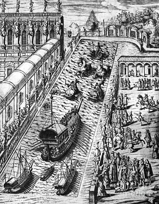 Venice: Procession Art Print by Granger