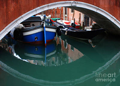 Venice Reflections 2 Art Print by Bob Christopher