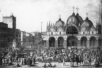 Venice: Saint Marks, 1797 Art Print by Granger