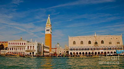 Art Print featuring the photograph Venice's Front Door by Eric Tressler
