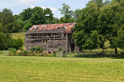 Science Collection - Ventilated Barn 7 by Douglas Barnett