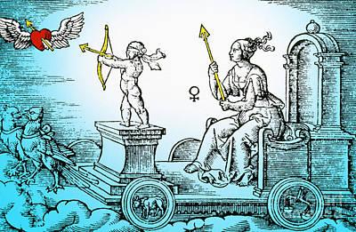 Venus, Roman Goddess Of Love Art Print by Photo Researchers