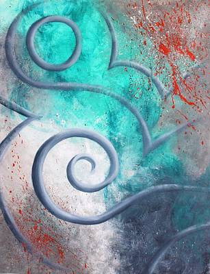 Modern Painting - Venus Sky by Reina Cottier