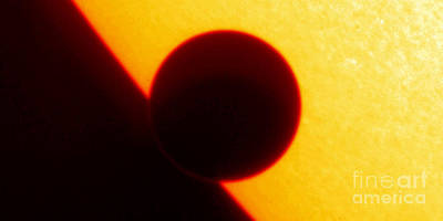 Photograph - Venus Transit, Trace Image by Nasa