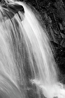 Photograph - Veritable Velocity Wilderness Waterfall Rugged Plunge by John Stephens