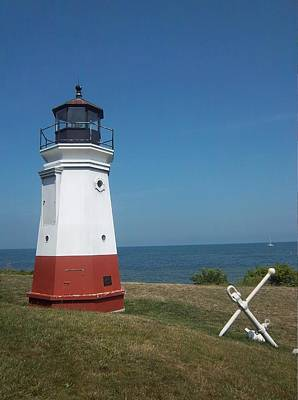 Vermillion Ohio Lighthouse Print by Gordon Wendling