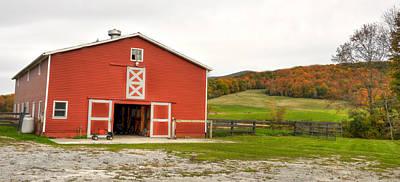 Vermont Barn House Art Print by Dennis Clark