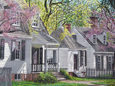Art Print featuring the painting Vermont Summer by Stuart B Yaeger