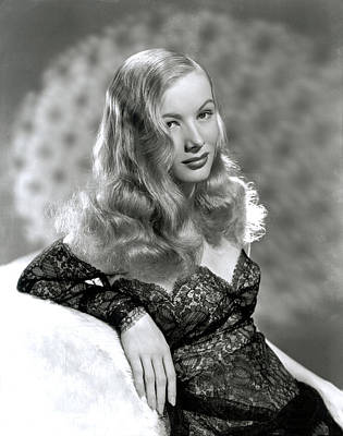 Veronica Lake, Early 1940s Art Print by Everett