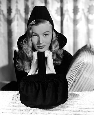 1940s Fashion Photograph - Veronica Lake, Paramount Pictures, 1941 by Everett