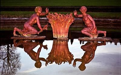 Photograph - Versailles Fountain by Kurt Weiss