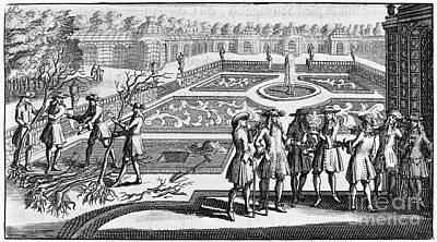 Versailles: Gardens, 1690 Art Print by Granger