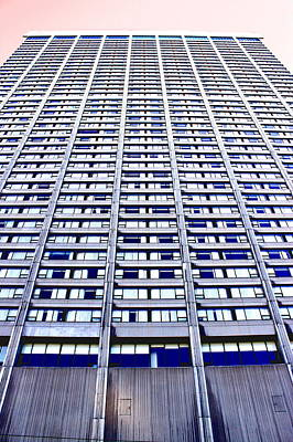 Photograph - Vertical Urbanization by Valentino Visentini