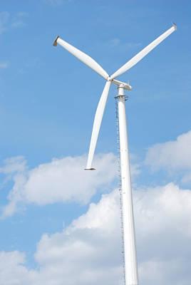 Vertical Windmill Art Print by Kim French