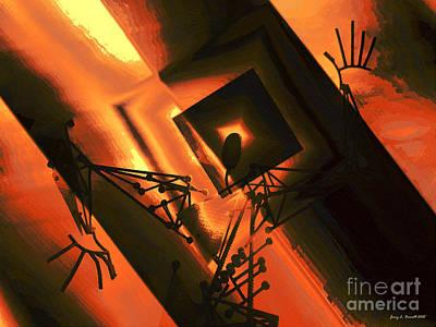 Mixed Media - Vertigo by Jerry L Barrett