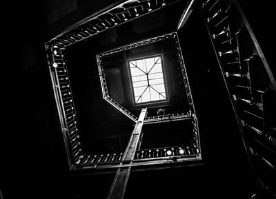 Flight Of Stairs Photograph - Vertigo by Mitch Shindelbower