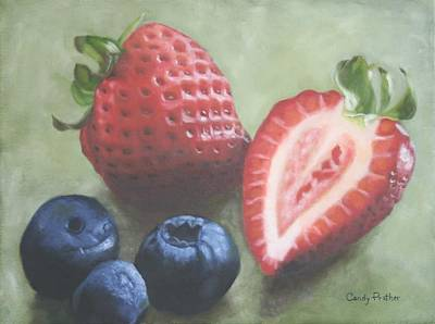Painting - Very Berry by Candy Prather