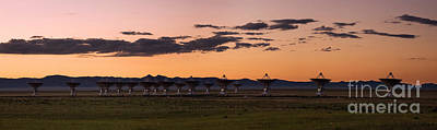 Very Large Array Panorama Art Print by Matt Tilghman