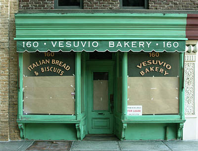 Commercial Archeology Sculpture - Vesuvio Bakery - New York Store Front Sculpture - Randy Hage by Randy Hage
