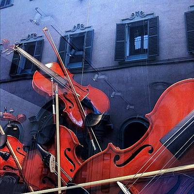 Music Wall Art - Photograph - Vetrine. Riflessi Architettonici E by Massimiliano Fabrizi