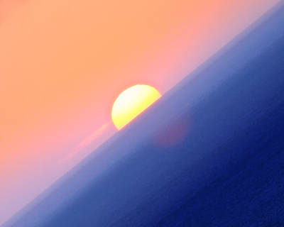 Vibrant Sun Art Print
