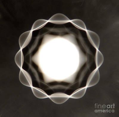 Vibrating Bubble Art Print