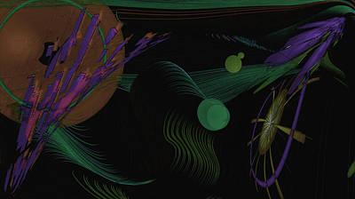 Vibration Art Print by Gt