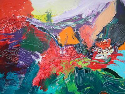 Painting - Vibrations by Kat Kemm