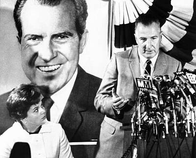 Vice Presidential Candidate Spiro Agnew Art Print by Everett