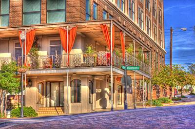 Photograph - Vicksburg Street Corner by Barry Jones