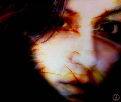 Woman Digital Art - Victim by Gun Legler