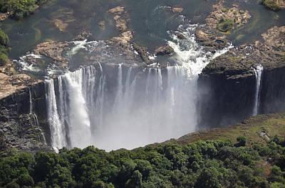 Zambesi River Photograph - Victoria Falls II by Christian Heeb