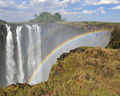 Photograph - Victoria Falls by Tony Beck
