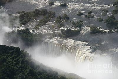 Victoria Falls Zambia Art Print by Carol Wright