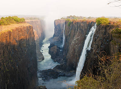 Victoria Falls, Zambia, Southern Africa Art Print by Peter Adams