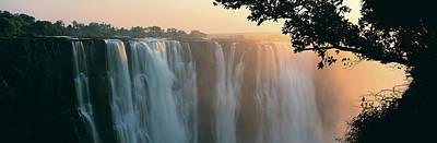 Victoria Falls, Zimbabwe, Africa Art Print by Jeremy Woodhouse