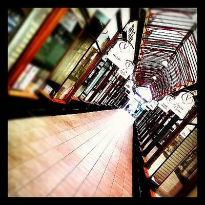 Norfolk Photograph - Victoria Shopping Arcade #shops #arcade by Invisible Man
