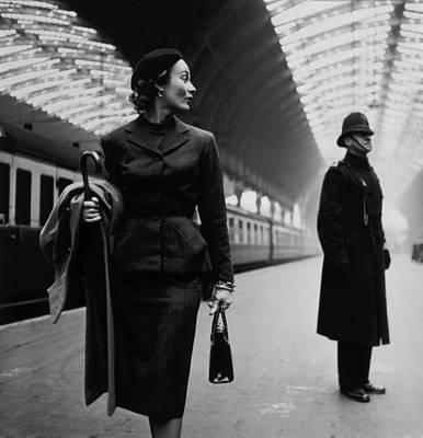 Victoria Station, London, England Art Print by Everett