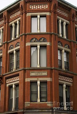 Photograph - Victorian Building Saint John New Brunswick by John  Mitchell