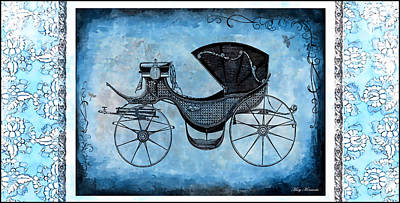 Mixed Media - Victorian Coach by Mary Morawska