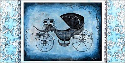 Mixed Media - Victorian Coach by Mary Morawska
