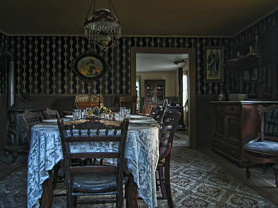 Victorian Dining Room No. 2 - Montana Art Print