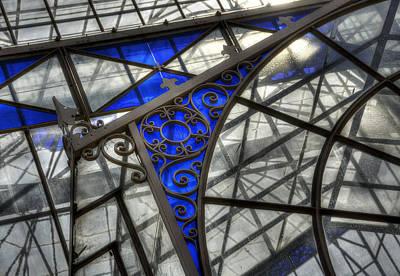 Photograph - Victorian Glasshouse by Wayne Sherriff