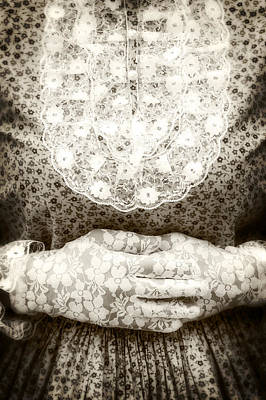 Victorian Hands Art Print by Joana Kruse