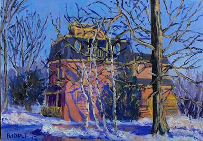 Painting - Victorian On Preble St. by Jack Riddle