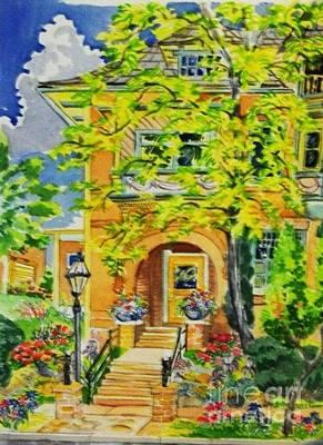 Victorian Sandstone Mansion Denver Colorado Original