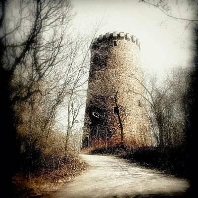 Wizard Photograph - #vieille #tour Sur L'ile #sthelene à by Yannick Menard