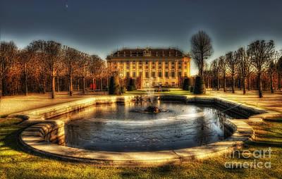 Vienna - Schonbrunn Palace Art Print