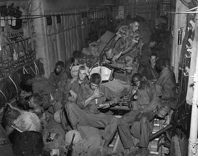 101st Airborne Division Photograph - Vietnam War. 101st Airborne Division by Everett