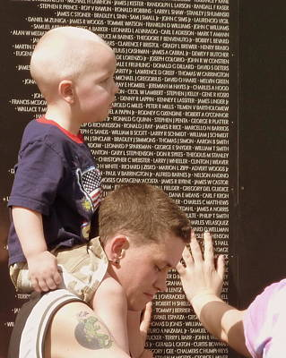 Photograph - Vietnam War Memorial by Cindy Wright